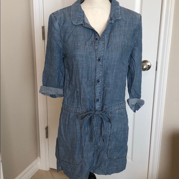 03b6d91644ee Level 99 Pants - Anthropologie chambray romper Level 99 XS